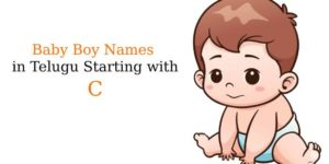 Baby Boy Names in Telugu Starting with C