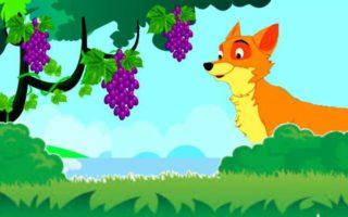 నక్క అందని ద్రాక్ష కథ | Fox and Sour Grapes Story