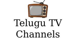 List of Telugu TV Channels